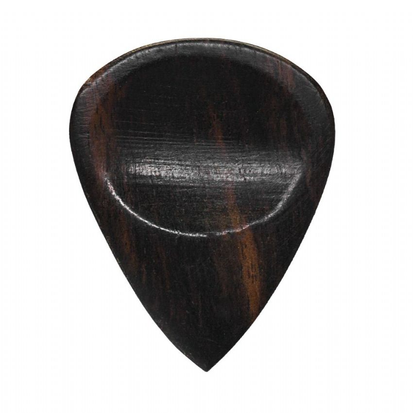 Lefty Tones - Ebony - 1 Guitar Pick | Timber Tones